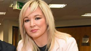 Minister Michelle O'Neill has tried to reassure people on waiting lists for health care