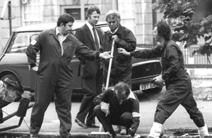 The Hyde Park bombing which left four soldiers dead in 1982