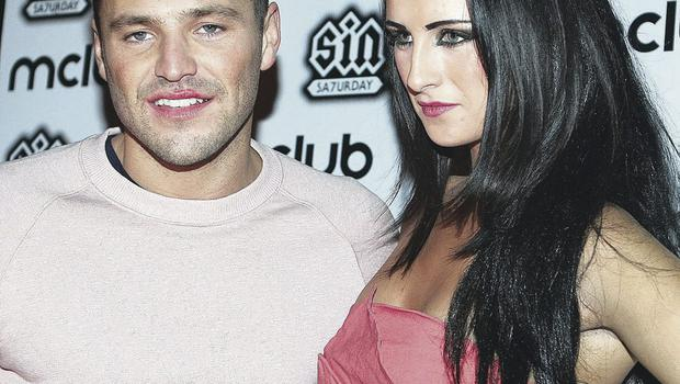 Michaella McCollum Connolly with reality TV star Mark Wright at a promotional night hosted by Belfast's M Club