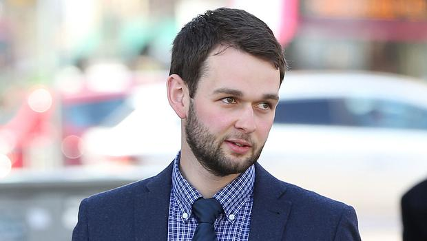 Daniel McArthur arrives at the Royal Courts of Justice in Belfast (Brian Lawless/PA)
