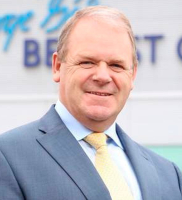 Chief: Brian Ambrose of Belfast City Airport