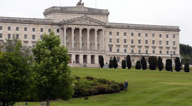A deal to restore the Stormont institutions in the coming days is unlikely, the DUP said (Paul Faith/PA