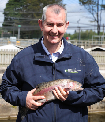 Fisheries Minister Edwin Poots