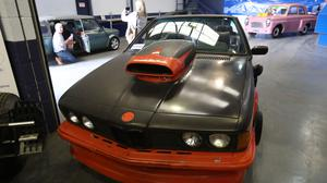 A car used in the film Back To The Future II was among the auction items