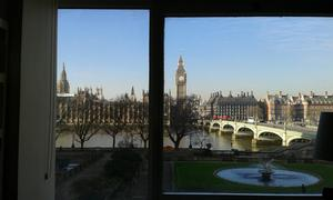 The view of Westminster from St Thomas