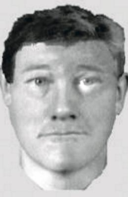 An image released by police in 2013 of the suspect in the Newry attack