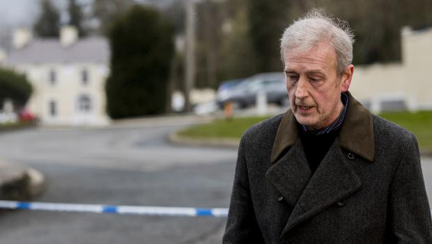 Michael McElhatton,, owner of The Greenvale Hotel (Liam McBurney/PA)