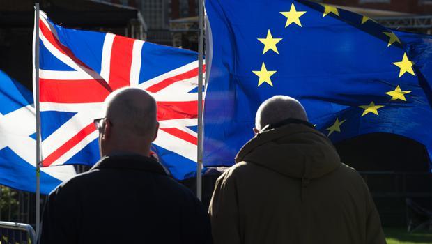 Most Remainers and Leavers would prefer to deal with Brexit than keep Northern Ireland in the union, a survey found (Jonathan Brady/PA)