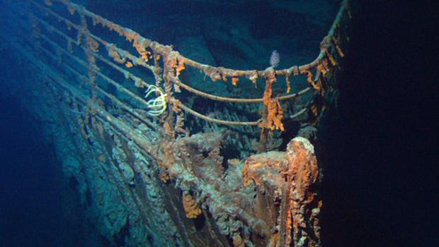 Treaty: the Titanic shipwreck