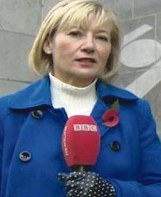 Martina Purdy during her time as a reporter