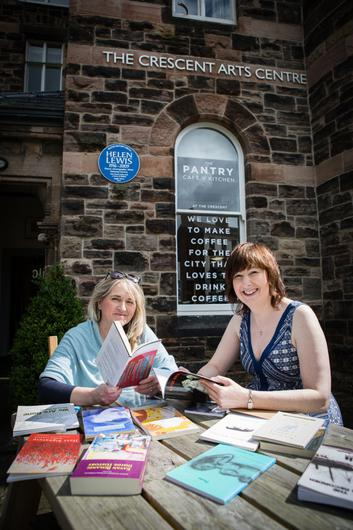 Belfast International Arts Festival Artists in Residence Deirdre Cartmill and Maria McManus, who are bringing poetry to the streets of Northern Ireland this October with the brand new initiative Poetry Jukebox