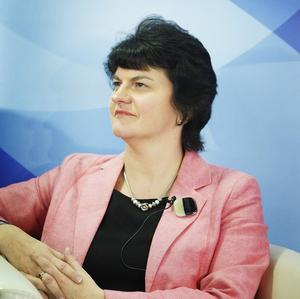 Jobs minister Arlene Foster said the decrease in the Northern Ireland unemployment rate was welcome news