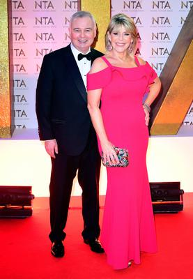 Husband and wife team: Eamonn Holmes and Ruth Langsford