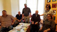 Participants Paul Gallagher, Alex Bunting, Mark Kelly, Peter Eastwood, Margaret Yeaman and Jennifer McNern