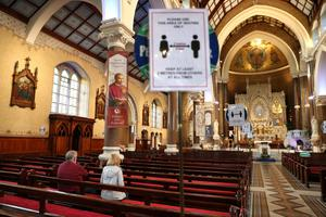 Clonard Monastery chapel in Belfast was reopened for private prayer last month