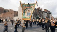 Questions have been raised about the policing of loyalist and republican parades and marches