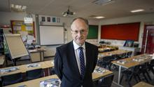 Education Minister Peter Weir (Liam McBurney/PA)