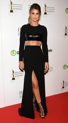 Vogue Williams at the IFTAs in Dublin