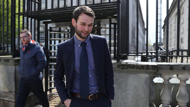 Owner of Ashers Bakery Daniel McArthur at the Royal Courts of Justice where the Supreme Court is examining issues linked to the 'gay cake' case (Brian Lawless/PA)