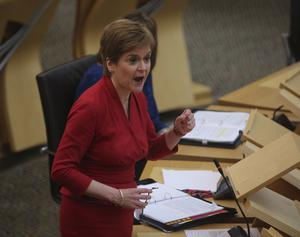 Nicola Sturgeon , together wit the leaders of the other devolved administrations, demanded action. (Fraser Bremner/Scottish Daily Mail/PA)