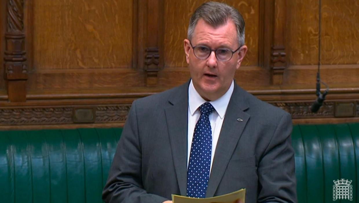 Stormont ministers may refuse to conduct NI Protocol checks if changes 'unacceptable', warns DUP's Donaldson