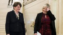 Northern Ireland First Minister Arlene Foster (left) and Deputy First Minister Michelle O'Neill will chair a Stormont sub committee on Brexit. (Liam McBurney/PA)