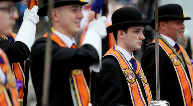 The Orange Order has expressed 'serious concerns' about the draft deal to resurrect Stormont (PA)