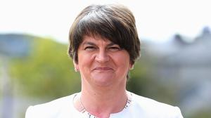 DUP leader Arlene Foster held talks with Robin Swann about co-operation