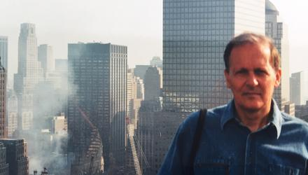 Conor O'Clery in New York after the attacks