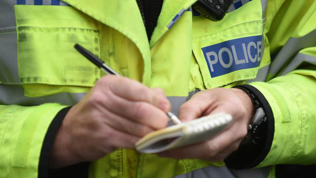 Police are investigating the finds in Lurgan (Joe Giddens/PA)