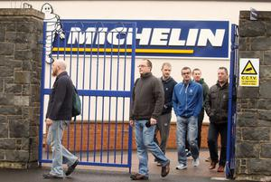 Michelin's Raceview Road factory in Ballymena, which will close in 2018