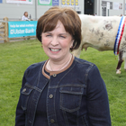 Diane Dodds at the Balmoral Show yesterday