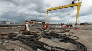 Harland & Wolff said the collaboration, named Team Resolute, would bring new skills to Belfast