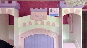 The castle bed Fraser made for Katie Price's daughter Bunny