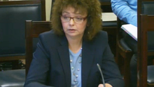 DCAL Minister Caral Ni Chuilin addresses MLAs at Stormont