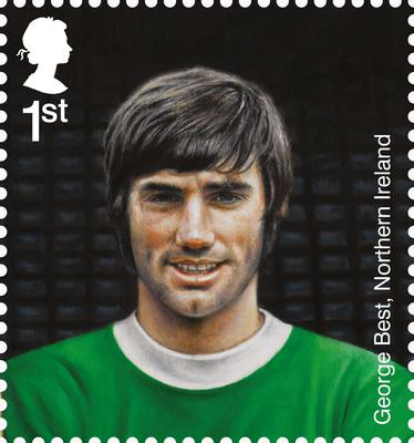 New stamp depicting George Best