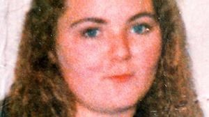 Arlene Arkinson vanished after a night out in August 1994
