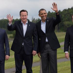 Vladimir Putin, David Cameron, Barack Obama and Francois Hollande were among the leaders at the G8 Summit at Lough Erne