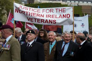 A veterans' rally in London this year