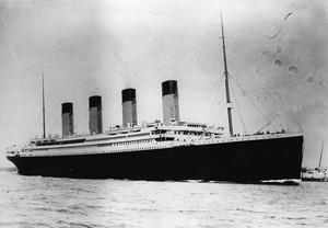 RMS Titanic struck an iceberg and sank on her maiden voyage in 1912, killing all but 700 on board