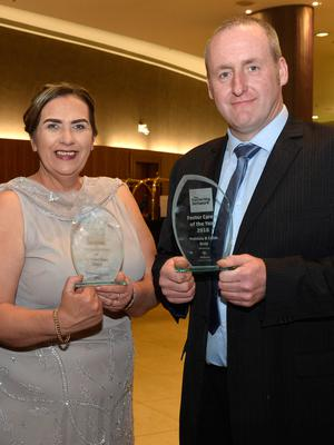Patricia and Colm Gray, from Draperstown, who were named Northern Ireland Foster Carers of the Year