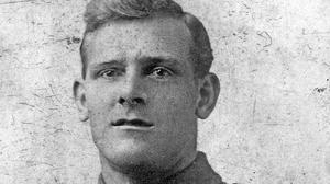 Sergeant David Harkness Blakey of the Royal Inniskilling Fusiliers, who was killed aged 26 on the first day of the Battle of the Somme on July 11916 (Family handout/PA)