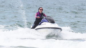 An Ards Peninsula resident has claimed the peace and quiet of Strangford Lough is being ruined by an increasing number of jet skiers at the weekends. Stock image posed by model