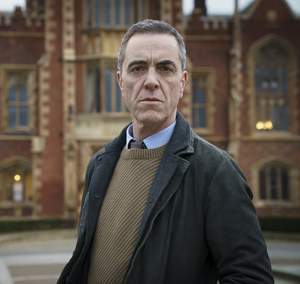 Mystery: Jimmy Nesbitt as DCI Tom Brannick in new new drama Bloodlands