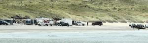 Portstewart Strand is closed off for Game Of Thrones filming