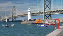 How the bridge from Donaghadee in Co Down to Scotland could look