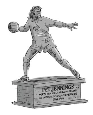 An artist's impression of how the statue would look