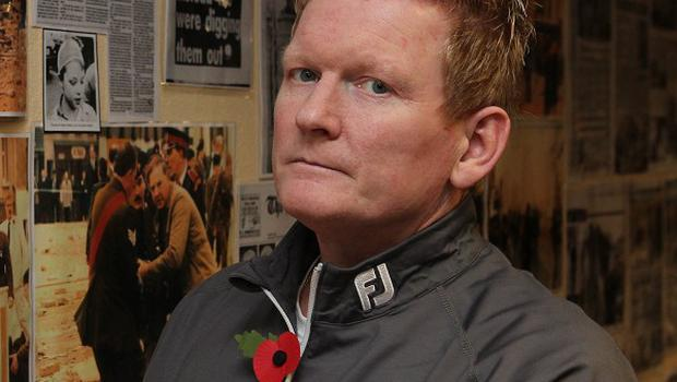 Stephen Gault, whose father Samuel was killed in the 1987 IRA Poppy Day bombing in Enniskillen