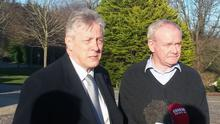 Peter Robinson and Martin McGuinness have been in talks over welfare reform
