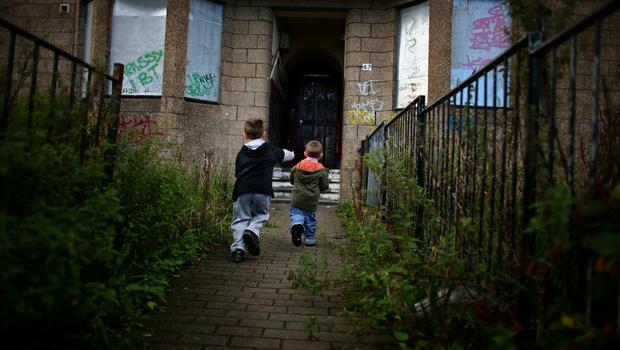 Tackling child poverty and building more homes are key priorities (picture posed)